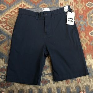Billabong navy blue shorts size 29